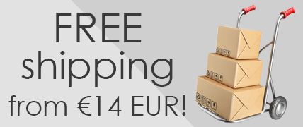 Free shipping from 14 EUR!