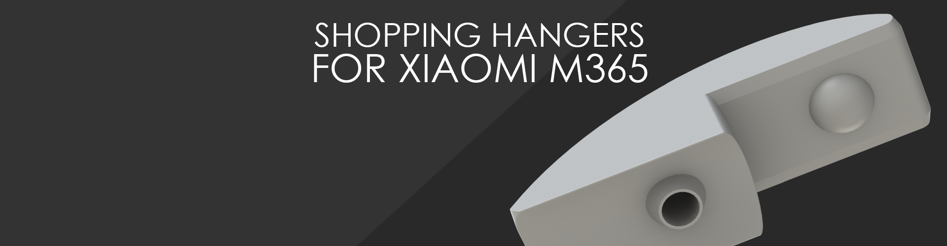 SHOPPING HANGERS FOR XIAOMI M365